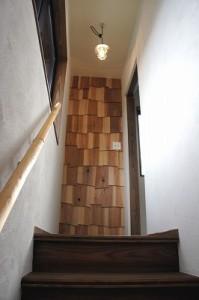 事務所の階段